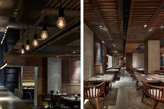 Japanese Restaurant design based on the contemporary old Shanghai style: Yakiniku Master by Golucci International Design