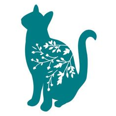 Silhouette Design Store - New Designs Silhouette Projects, Silhouette Design, Design Projects, Craft Projects, Homemade Xmas Decorations, Paper Cutting Patterns, Cat Quilt, Animal Silhouette, Silhouette Portrait