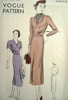Vogue dressmaking pettern.