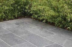 London Stone - Exterior Stone Paving - Sawn Paving - Black Basalt Sawn Paving Outdoor Paving, Garden Paving, Outdoor Tiles, Slate Patio, Patio Tiles, Backyard Patio, Backyard Landscaping, Paver Walkway, Pavers Patio