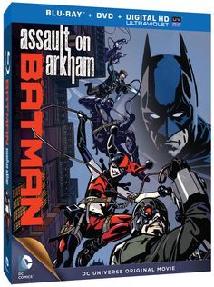 Batman: Assault on Arkham hits Blu-ray, DVD and Digital Download in 2015. Featuring the Suicide Squad and Harley Quinn