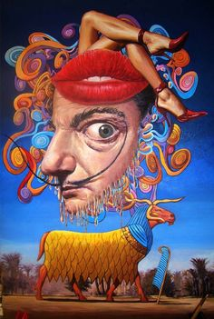 Surrealism by Salvador Dali Paintings | Surreal Thanksgiving, Salvador Dali's paintings for sale on 1paintings ...