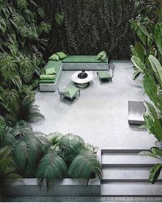 Browse landscape pictures, discover landscaping ideas and get tips from landscape design for creating your dream front yard landscaping or backyard landscaping ideas. Small Gardens, Outdoor Gardens, Outdoor Rooms, Outdoor Living, Terrasse Design, Architectural Digest, Architectural Plants, Backyard Landscaping, Garden Inspiration