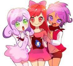 Resultado de imagen para My little pony Anime tribute 6 amigas y un gato