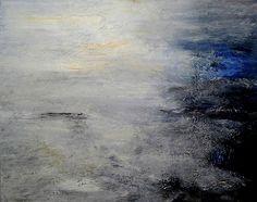James Tatum - South West Coast Path mixed media on canvas 61x76cm
