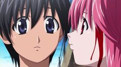 Elfen Lied- it's sad if you think about everything that happened in the show between them