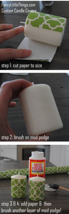DIY Custom candles
