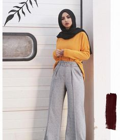 ZAFUL offers a wide selection of trendy fashion style women's clothing. Modern Hijab Fashion, Hijab Fashion Inspiration, Muslim Fashion, Modest Fashion, Fashion Outfits, Modest Dresses, Modest Outfits, Mustard Yellow Outfit, Hijab Fashionista
