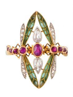 Turquoise Jewelry Is Quite Lovely Bijoux Art Nouveau, Art Nouveau Jewelry, Jewelry Art, Fine Jewelry, Jewelry Design, Women Jewelry, Antique Rings, Antique Jewelry, Vintage Jewelry