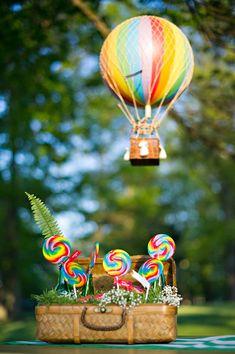 yummy lollipop escort cards Wizard of Oz themed wedding