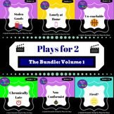 Plays for 2 - The Bundle: Volume 1 Family Stress, Drama Teacher, Difficult Conversations, Great Memories, Rubrics, Elementary Schools, Bullying, Plays, Have Fun