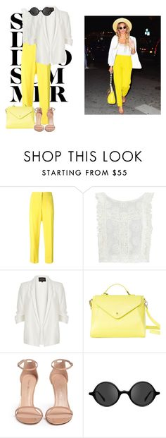 """""""#11"""" by madison-wells1i ❤ liked on Polyvore featuring Emilio Pucci, MINKPINK, River Island, Paperthinks, Stuart Weitzman and Muse"""