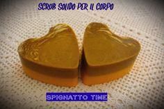 """Ricetta Cosmetica """"Scrub Solido per il Corpo"""" ben 2 versioni semplicissime Scrub Corpo al Cocco Scrub Corpo al Mango http://spignattotime.blogspot.it/2016/03/scrub-solido-per-il-corpo-2-versioni.html"""