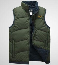 Jack Wolfskin down vest Winter Wear, Autumn Winter Fashion, Sleeveless Jacket, Warm Coat, Vest Jacket, Types Of Fashion Styles, Insulation, Islamic, Men Casual