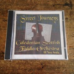 4fc6e297 Caledonian Scottish Fiddle Orchestra of Nova Scotia CD Sweet Journeys New  2000
