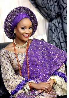 Stylish ideas for traditional african fashion 223 African Lace Dresses, African Dresses For Women, African Fashion Dresses, Nigerian Wedding Dresses Traditional, Traditional Wedding Attire, Traditional Weddings, Nigerian Bride, Nigerian Weddings, Nigerian Outfits