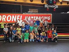 Kom ook papa & kids karten bij Coronel Kartracing!