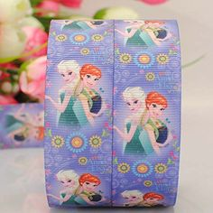 10 Yards1'25mm frozen Fever cartoon Printed Gift Grosgrain Ribbon >>> See this great product.