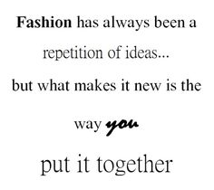 This.... it's why we do what we do.... #fashionistas #styleblog #inspo #givesuslife