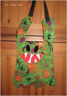 Pe-Twin-kel : Creadienstag - mit Halloweentaschen - Geistertasche