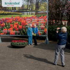 Keukenhof welcome sign - Lisse, the Netherlands