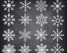 Tafel Weihnachts Doodles ClipArt Weihnachten DOODLES von SAClipArt