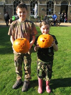 Some wonderful pumpkins are being carved at Holkham Hall. www.holkham.co.uk