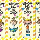 These bookmarks are a perfect present for the first day of school. Enjoy!...