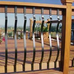 Front Porch Railings: From Wood Deck Railings to Aluminum Porch ...