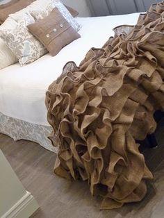 Bedroom burlap Design Ideas, Pictures, Remodel and Decor