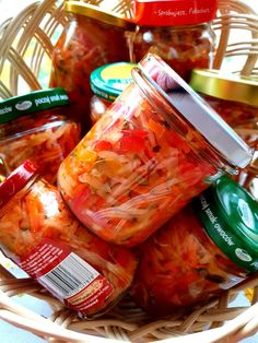 Meals In A Jar, Fresh Rolls, Preserves, Pickles, Salads, Canning, Ethnic Recipes, Food, Diet