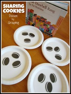 Relentlessly Fun, Deceptively Educational: Sharing Cookies (Division by Grouping) - cookie printable