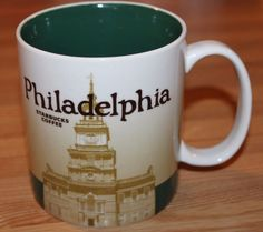 Starbucks Philadelphia Collector Series Mug 2011 New With Tags 16 Fluid Ounce #Starbucks