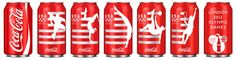 coca cola packaging for olympics