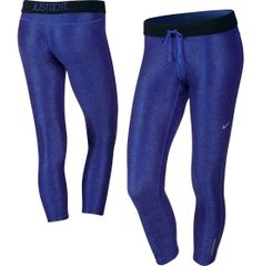 Nike Women's Printed Relay Cropped Running Tights - Dick's Sporting Goods
