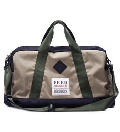 FEED duffle to benefit Doc2Dock
