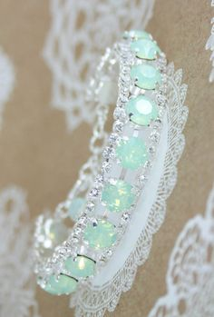 Crystal braceletswarovski braceletswarovski por EndoraJewellery