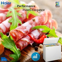 Dual condenser of #Haier's #DeepFreezer ensures excellent freezing performance complementing your elegant #lifestyle! #HaierIndia #Technology #Appliances #InspiredLiving