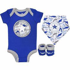 Baby Converse Chuck Taylor Newborn Set Shark