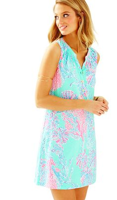Lilly Pulitzer Sleeveless Essie Dress - Fansea