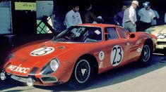 Ricardo Rodriguez Cavazos and Federico de la Chica drove this Ferrari 250 LM at Sebring 1967. The car failed to finish due to a problem with the exhaust system. The Ferrari was equipped with a 3.2 liter V12 engine.