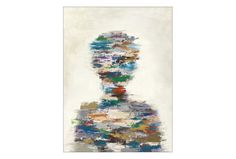Picture-Abstract Silhouette 30X40 - Signature