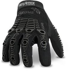 Chrome Series 4005 Black Tactical Shooting Gloves