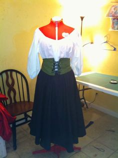Peasant Outfit by ChloizzysCloset on Etsy, $185.00