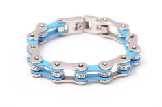 New Ladies Stainless Steel Rhinestone Harley Bikers Motorcycle Chain Bracelet Trendy Bracelets, Bikers, Turquoise Bracelet, Motorcycle, Stainless Steel, Chain, Lady, Jewelry, Jewlery