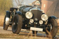 """Bentley 6 1/2 Litre - This Bentley Le Mans Eight is an exact copy of the Bentley Speed Six which was introduced in 1928 as a more sporting version of the Bentley 6½ Litre. It would become the most-successful racing Bentley, claiming victory at the 24 Hours of Le Mans in 1929 and 1930 with Bentley Boys drivers Woolf Barnato, """"Tim"""" Birkin, and Glen Kidston."""