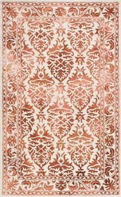 Krause Red Area Rug