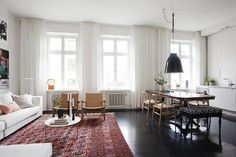Kitchen/Dining/Living all in one #apartment #layout
