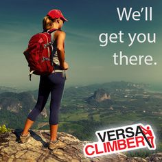 Since 1981, VersaClimber has been providing the highest level of total body cardio training—in the least amount of time. Where ever your adventure takes you, VersaClimber cardio will get you there.  #versaclimber #cardio #rei #backpacker #socalhiker #6packofpeaks #getfit #outdoors #explore #outside