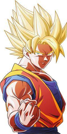 Super Saiyan Goku #8 [Alt.2] by AubreiPrince